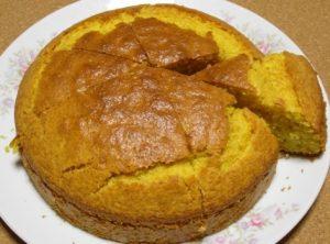 シナモンキャロットケーキ
